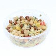 Tricolor Chickpea Salad, 8oz.  16 oz