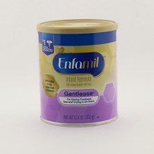 Enfamil Gentlease Infant Formula Milk based Powder with Iron For Easing Fussiness Gas  and  Crying in 24hrs  12.4 oz