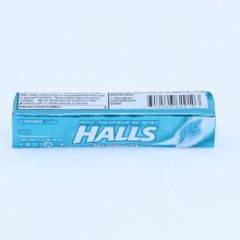 Halls Ice Peppermint Drops, Soothes Sore Throats, Relieves Coughs, Cools Nasal Passages  9 drops