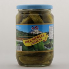 VG dill pickles 25 oz