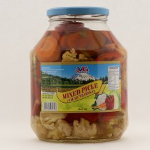 VG mixed pickles tzarska salad 59 oz