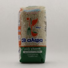 3A Round Grain Rice 17.6 oz
