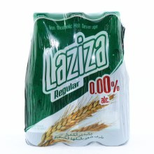Laziza Regular Non-Alcoholic Malt Beverage  8.45 oz