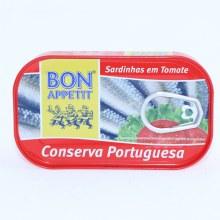 Bon Appetit Sardines in Tomato Sauce 4.23 oz