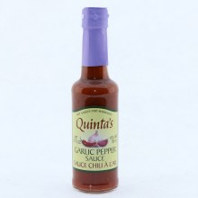 Quinta's Garlic Pepper Sauce 5.24 oz
