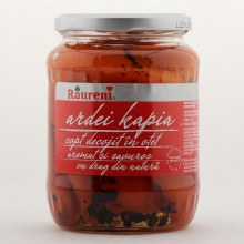 Raureni Roasted Peeled Kapia Peppers 24 oz