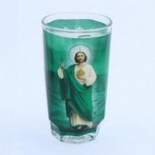 Veladora San Judas Tadeo/Saint Judas Tadeo 1 piece