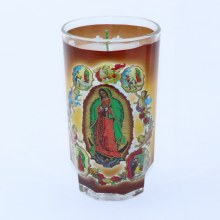 Veladora Nuestra Senora de las Apariciones/ Prayer Our Lady of Aparitions 1 piece