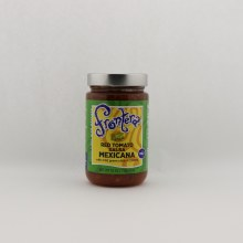 Frontera Red Tomato Salsa Mexicana With Mild Green Chile  and  Cilantro 16 oz