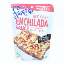 Frontera Red Chile Enchilada Sauce with Roasted Tomato and Garlic  8 oz