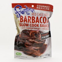 Frontera Red Chile Beef Barbacoa Slow Cook Sauce Mild 8 oz