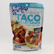Frontera Veggie Taco Skillet Sauce With Roasted Tomato  and  Green Chile Medium 8 oz