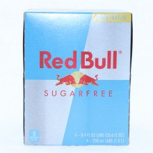 Red Bull Sugar Free  4 Pack of 8.4 fl. oz. Cans