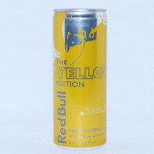 Red Bull The Yellow Edition  Tropical Flavor  8.4 fl. oz.