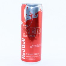 Red Bull The Red Edition  Cranberry Flavor  12 fl. oz.