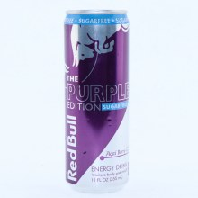 Red Bull The Purple Edition Sugar Free  Acai Berry Flavor  12 fl. oz.
