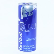 Red Bull The Blue Edition  Blueberry Flavor  8.4 fl. oz.