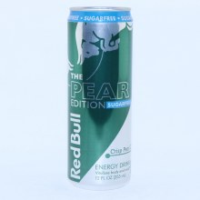 Red Bull The Pear Edition  Sugar Free Crisp Pear Flavor  12 fl. oz.