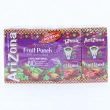Arizona Fruit Punch Juice Boxes 8 Pack