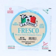 La Chona Fresco Mexican Style Crumbling Cheese 12oz.  12 oz
