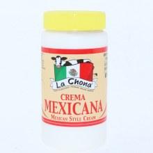 La Chona Crema Mexicana, Mexican Style Cream 15 oz