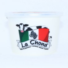 La Chona Crema Natural Acidified Sour Cream 16oz.