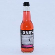 Jones Fufu Berry Cane Sugar Soda with Natural  and  Artificial Flavors 12 FL. oz