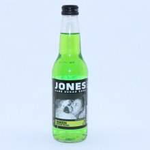Jones Green Apple Cane Sugar Soda 12 FL. oz