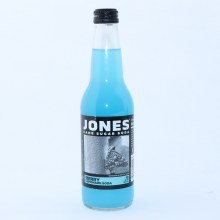 Jones Berry Lemonade Cane Sugar Soda with Natural  and  Artificial Flavors 12 FL. oz