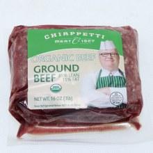 Chiapetti Organic Grnd Beef
