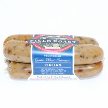 Field Roast Vegetarian Italian Grain Meat Sausages with Eggplant Fennel Fresh Garlic and Red Pepper NON GMO 12.95 oz