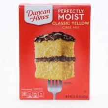 Duncan Hines Classic Yellow
