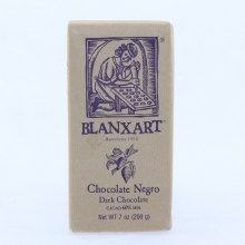 Blanxart, Dark Chocolate made with 60% Cocoa  7 oz