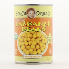 Brads Org Garbanzo Beans