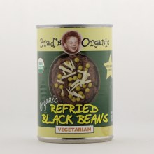 Brads Org Refrd Black Bean