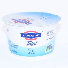 Fage Total 5Per Cent Milk Fat Yogurt All Natural Whole Milk Greek Strained Yogurt No Added Sugar Non GMO 7 oz