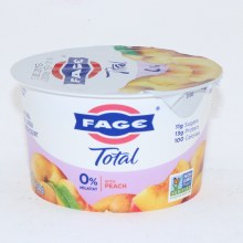 Fage Peach Yogurt