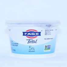 Fage Yogurt 5% Total