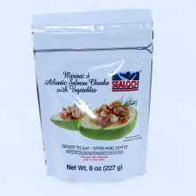 Sealoch Marinated Atlantic Salmon Chunks with Vegetables 4 oz
