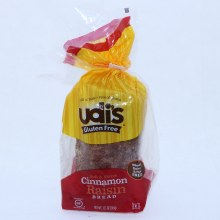 Udis Cinnamon Raisin Bread Wheat Dairy  and  Nut Free Gluten Free