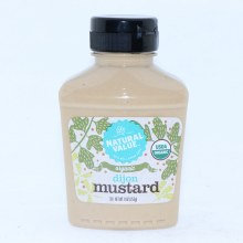 Nature Value Organic Dijon Mustard