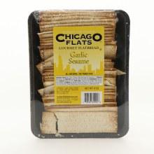 Chicago Flats Garlic Sesame Flatbread
