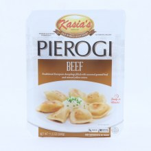 Kasias Beef Pierogi Dumplings Filled with Seasoned Ground Beef  and  Minced Yellow Onion 0g Trans Fat No Artificial Colors or Flavors 11.5 oz 14 oz