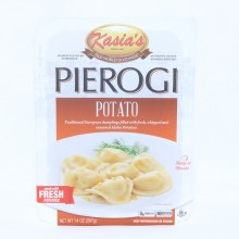 Kasia's Potato Pierogi, Dumplings Filled with Fresh, Whipped & Seasoned Idaho Potatoes, 0g Trans Fat, No Artificial Colors or Flavors, 14 oz 14 oz