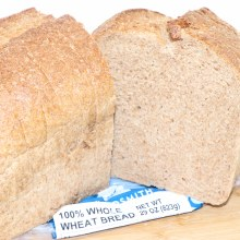 Breadsmith 100% Whole Wheat Bread  29 oz