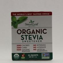SweetLeaf Organic Stevia