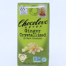 Chlove Ginger Dark Chocolate