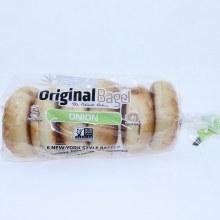 Original Bagel Onion 6 count New York Style Bagel 6 ct
