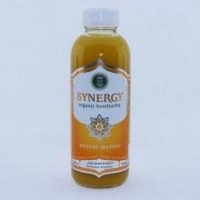 GTS Synergy Organic Kombucha Mystic Mango. USDA Organic.