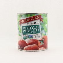 Muir whole peeled tomatoes 28 oz